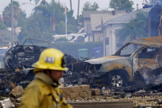 Avioneta cae sobre vecindario en San Diego y deja al menos dos muertos –  noticias telemicro